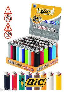 15 x Bic Maxi Feuerzeuge bunt, J26, mit Kindersicherung, NEU, Reibradfeuerzeuge
