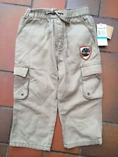 NWT ***REAL*** TIMBERLAND LOGO TROUSERS - 24 MONTHS