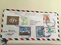 Paraguay  registered Airmail multi stamps and cancels  cover Ref R25470