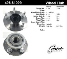 Wheel Bearing and Hub Assembly-C-TEK Hubs Front Centric 406.61009E