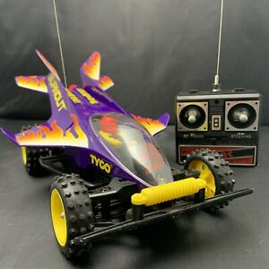 VTG 1996 Tyco RC Car Burnout Works Perfectly Comes Boxed W/ All Inserts Clean