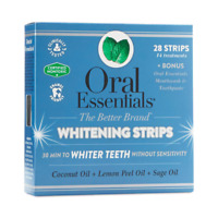 Lumineux Oral Essentials Whitening Strips 28 Strips Bonus Mouthwash Toothpaste