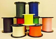 SCIENTIFIC ANGLERS 20# DACRON BACKING PRE CUT SPOOLS / CHOOSE LENGTH / 9 COLORS