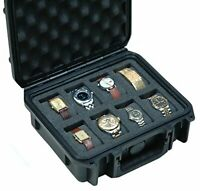 Case Club Waterproof 8 Watch Travel Case
