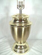 MID CENTURY MODERN CLASSICAL ADAMS BRASS URN REGENCY LAMP