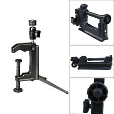Mini Portable Swiveling C-Clamp Tripod Stand Holder for DSLR Camera Camcorder