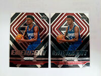 2018-19 Panini Prizm Shai Gilgeous-Alexander Emergent Rookie RC Clippers 2 CARDS
