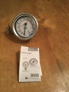 Wika pressure gauge New In Box