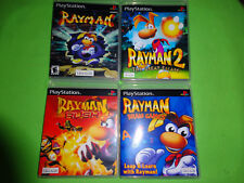 EMPTY CASES Rayman 1 2 The Great Escape Brain Rush PS1 PS2 PS3 Sony PlayStation