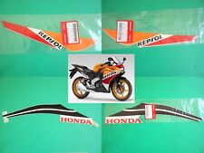 GENUINE REPSOL Honda CBR125R Stickers Decals Rear Sticker 2011 - 2018 *UK STOCK*