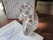 "PRINCESS HOUSE Crystal swan pets  4x3""  bird  collectable Vintage in box"