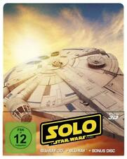 Solo: A Star Wars Story (Limited Steelbook Edition)[3D & 2D Blu-ray/NEU/OVP]