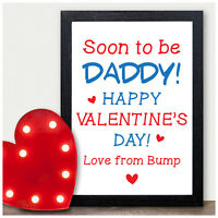 Valentines Day Gifts for Mummy Daddy To Be PERSONALISED Presents from Baby Bump