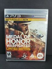 Medal of Honor Warfighter Limited Edition PS3 Playstation 3 Game NEW SEALED