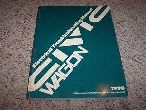 Repair Manuals Literature For 1990 Honda Civic