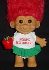 "STUDENT OF THE YEAR Russ Troll Doll 5"" NEW IN BAG Hard to Find CELEBRATE SCHOOL"