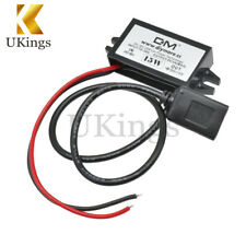 DC Converter 12V to 5V 3A 15W USB Output Power Adapter Regulator Car Charger K