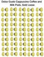 Nescafe Dolce Gusto Cappuccino Milk and Coffee Pods 20,40,60,80,100 Capsules