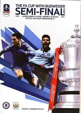 Teams L-N Manchester City Football FA Cup Fixture Programmes