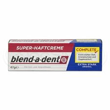 Blend-a-Dent Denture Super Adhesive Cream: STRONG - FREE SHIPPING