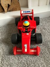 TOMY Hi-Grip Sports Kids Battery Operated Engine Sounds FORMULA 1 Toy Car - 2002