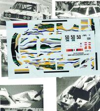 """decal 1/43 BMW 320i Gr.5 """"ROY LICHTENSTEIN"""" 24h Le Mans 1977 RENAISSANCE DU001F"""