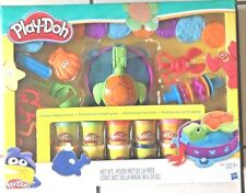 PLAY-DOH OCEAN ADVENTURES SET WITH 10 CANS OF COLORED PLAYDOH BY HASBRO