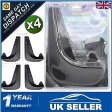 4Pc FRONT REAR Mudflaps Universal Fit Mud Flap FOR Car Van Vehicle W/Fender Clip