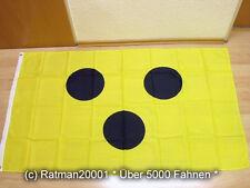 Fahnen Flagge Schiri Schiedsrichter Blindenfahne Fußball Fan - 90 x 150 cm