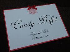 Fait main personnalisé de style vintage candy buffet SIGNE - * beaucoup de couleurs disponibles *