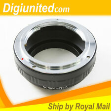 Konica AR mount lens to Sony E mount NEX adapter NEX-5 NEX-3 A7 A7R A6300 A5100