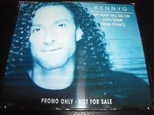 Kenny G My Heart Will Go On Rare Australian Promo CD Single
