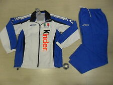1122 Bis Fipav SIZE S ASICS Tracksuit Volleyball Italy Unisex