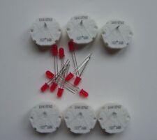 6 GM GMC Stepper Motor X27.168 Speedometer Cluster Repair Kit 10 Red LED Bulbs