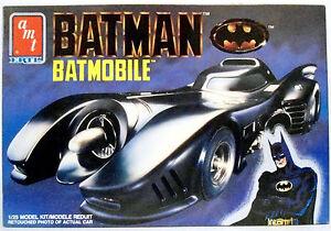 BATMAN 1989 Movie BATMOBILE Model Kit & Blueprinter ARMORED SHIELD COCOON.