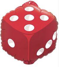 "Dice Poker Party Casino 18"" Balloon Birthday Party Decorations"