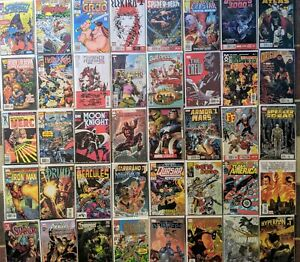 MARVEL COMIC BOOK COLLECTION INVESTMENT LOT of #1 Rarities & HTF VINTAGE BOOKS