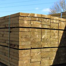 New Eco Treated Softwood Garden Landscaping Railway Half Sleepers 2400x200x50