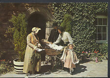 Channel Islands Postcard - Family, Folk Museum, Saumarez Park, Guernsey  LC5987