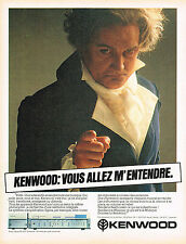 PUBLICITE ADVERTISING 015  1981  KENWOOD    ampli SIGMA KA 1000