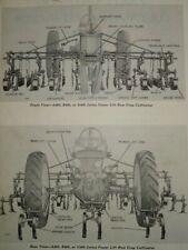 John Deere ABG-400 Series 4-Row Cultivator Parts Catalog Manual Book Original!