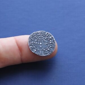 Hammered Silver Coin Edward 1st Penny Durham Mint c 1279 AD