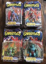 Disney Gargoyles Hard-Wired Moc Lot 4x Lexington Goliath Broadway Xanatos Sealed