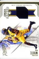 kevin white jersey patch west virginia wvu college #/85 2016