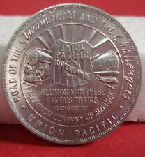1939 Golden Gate Expo Token Union Pacific Streamliner + Challenger - FREE SHIP