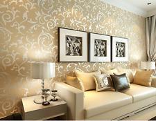 USA 3D Modern Gloss WallPaper Roll Background for Living Room Bedroom Home Decor