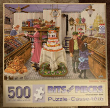 BITS AND PIECES FANTASTIC CAKES 500 PIECE PUZZLE COMPLETE FREE SHIPPING