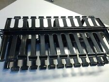 """PANDUIT 2U Horizontal Double Sided Finger Duct Cable Manager 19""""Rack System XLT"""