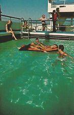 Delta Line Cruises Santa Maria-Santa Mercedes-Santa Mariana Postcard 1960s