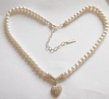 Crystal Necklace Vintage Costume Jewellery (1980s)
